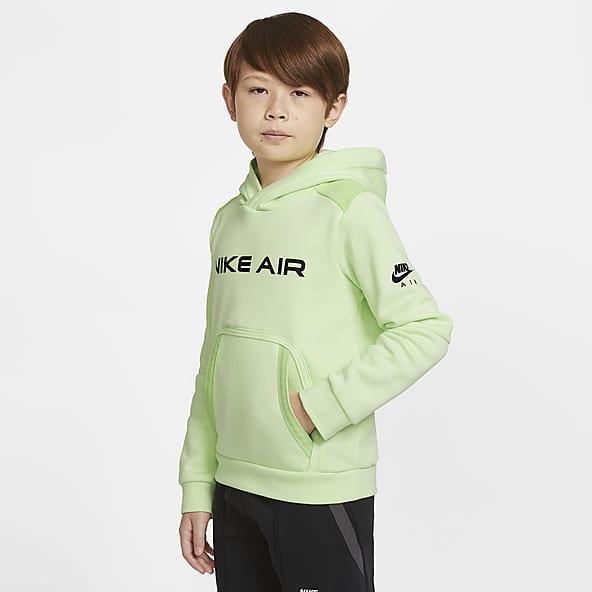 Skateboard on green Boys Fleece Hoddies Jacket