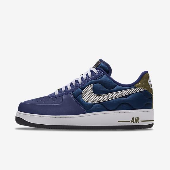 air force 1 baffo blu