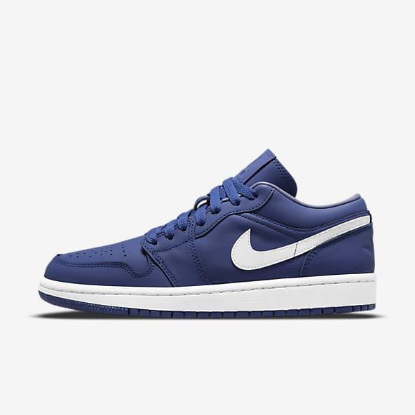 Femmes Jordan Bleu Chaussures. Nike LU