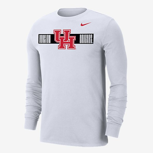 The Blue Brand NCAA Mens Long Sleeve T Shirt White Icon