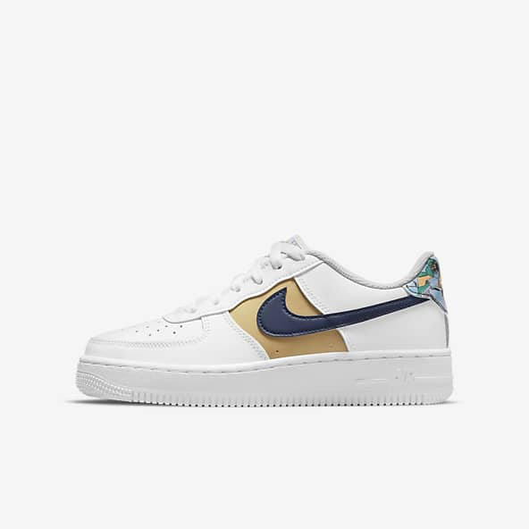 Filles Air Force 1 Chaussures. Nike CA