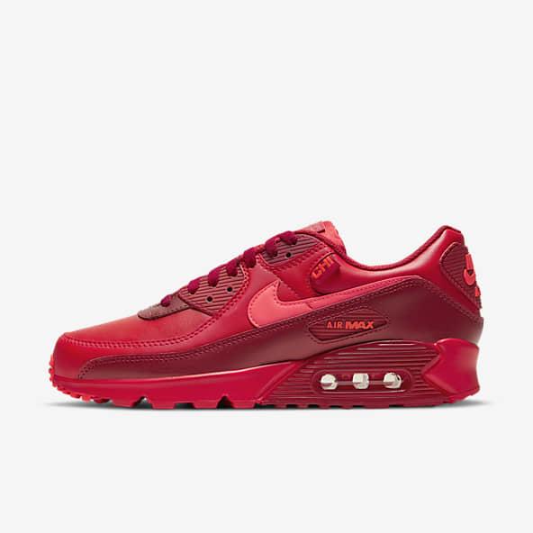 Red Air Max 90 Shoes. Nike.com