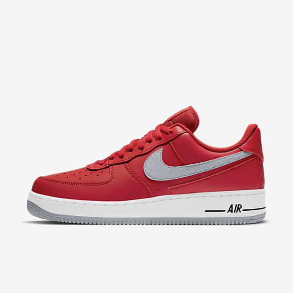 Red Air Force 1 Shoes. Nike.com