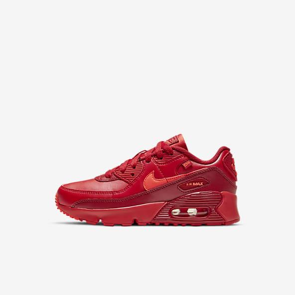 air max 90 men's red