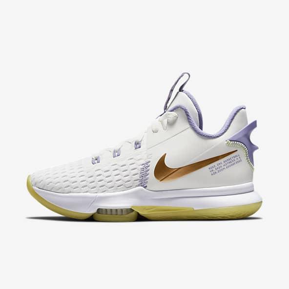 Femmes Blanc Basketball Chaussures. Nike LU