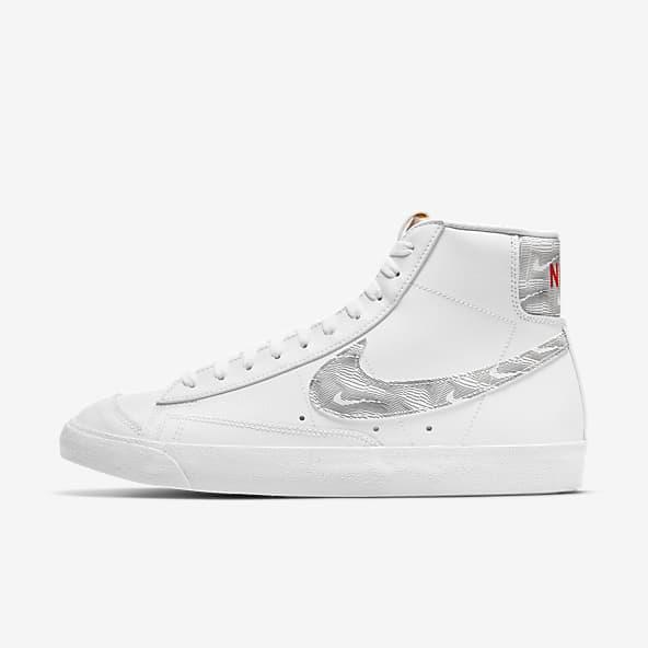 Hommes Blanc Blazer Chaussures. Nike CA