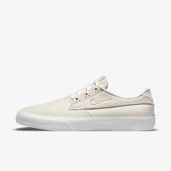 Blanc Skate Chaussures. Nike LU