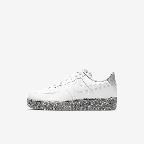 air force 1 nere bambino