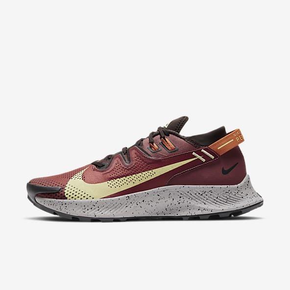 chaussures nike marron