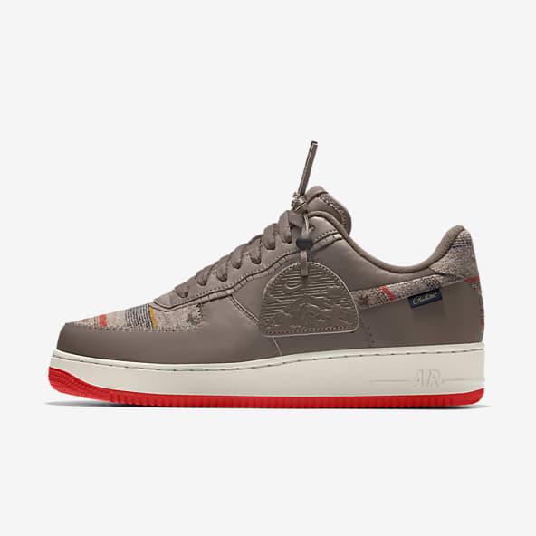 chaussure nike marron