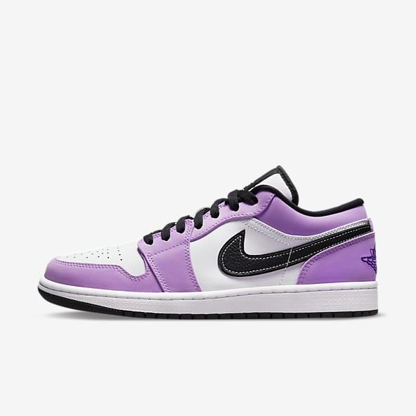 Jordan Pourpre Chaussures. Nike LU