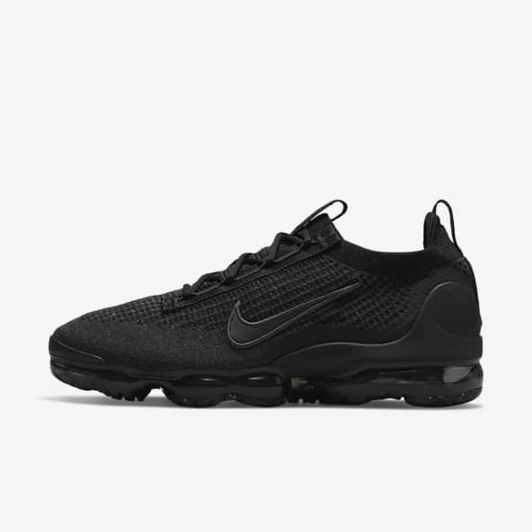 Black VaporMax Shoes. Nike IN