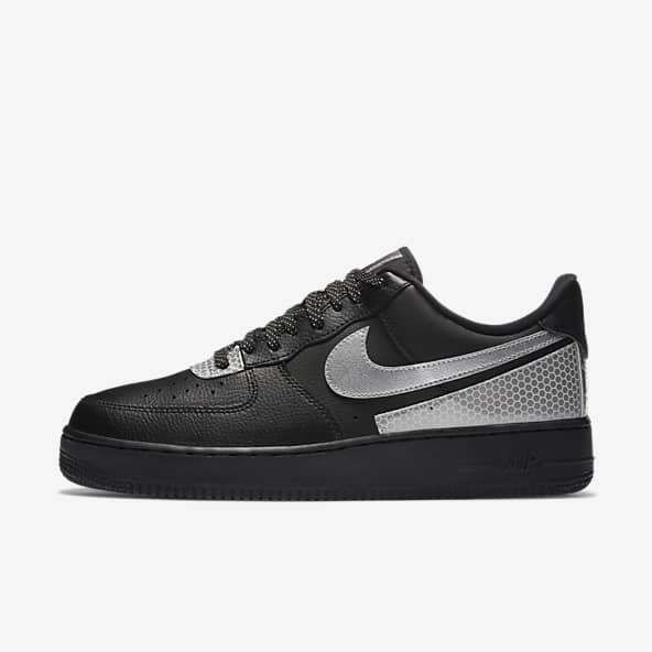 nike negros zapatos
