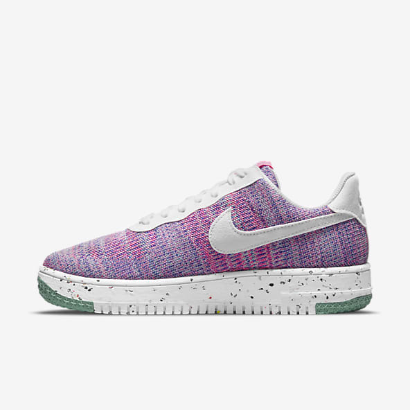 Pourpre Air Force 1 Chaussures. Nike LU