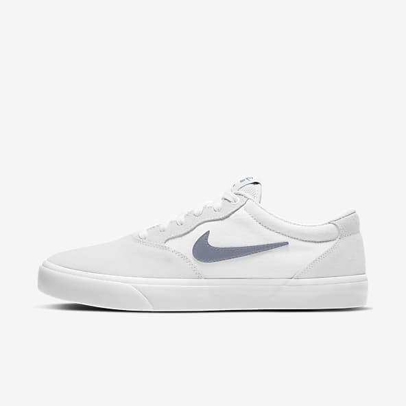 Hommes Blanc Skate Chaussures. Nike CH