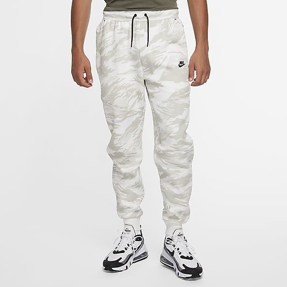 Hombre Blanco Pantalones Y Mallas Nike Cl