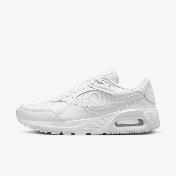 Femmes Blanc Chaussures. Nike LU