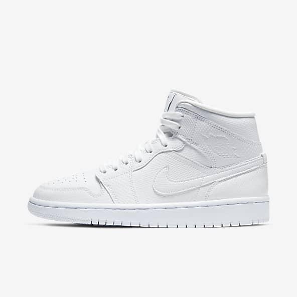 Jordan 1 White Shoes. Nike GB