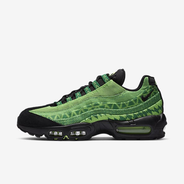 Vert Air Max 95 Chaussures. Nike LU