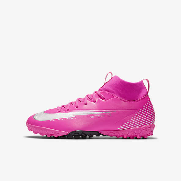 Girls Synthetic Football Shoes. Nike ID