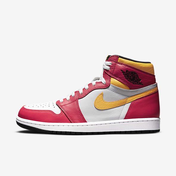 Hommes Jordan Rouge Chaussures. Nike CA