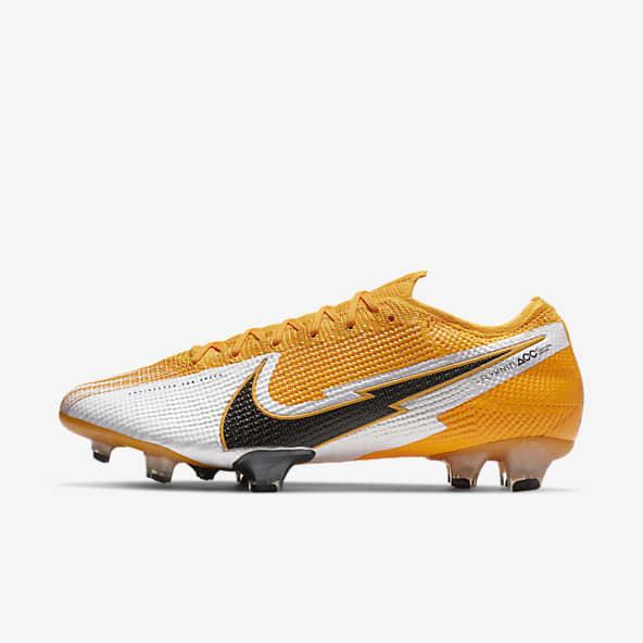 Enfatizar diagonal abdomen  Hombre Naranja Fútbol Zapatillas. Nike ES