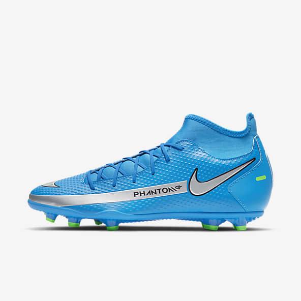 Bleu Football Chaussures. Nike CA