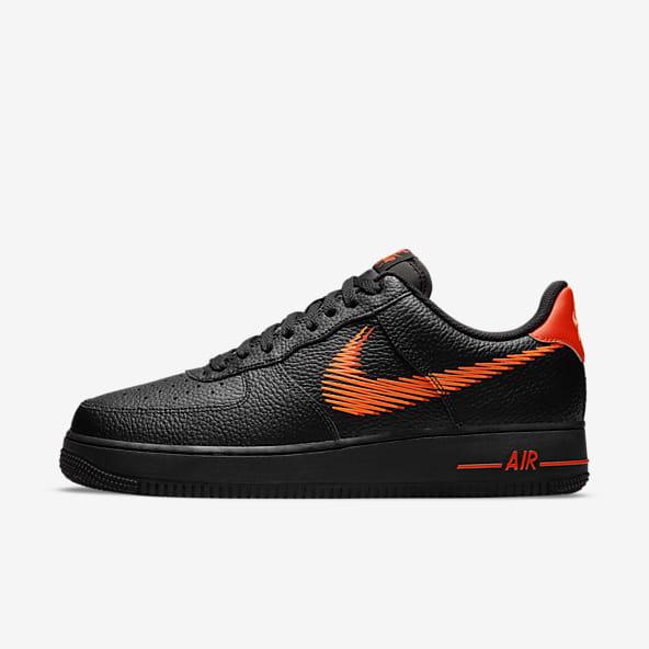 Black Air Force 1 Shoes. Nike SE
