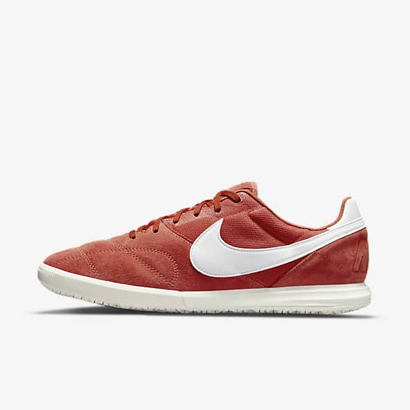 Femmes Orange Football Chaussures. Nike FR
