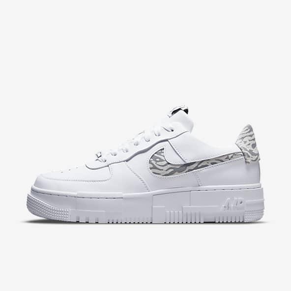 Femmes Blanc Air Force 1 Chaussures. Nike FR