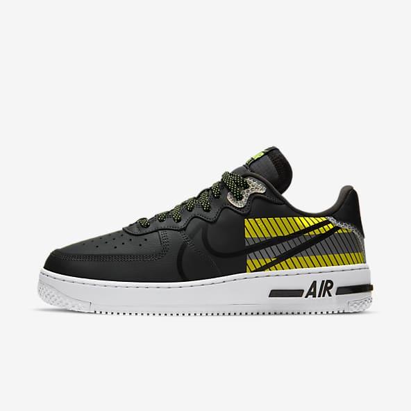 zapatillas nike air force 1 negras hombre