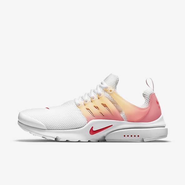 White Presto Shoes. Nike GB
