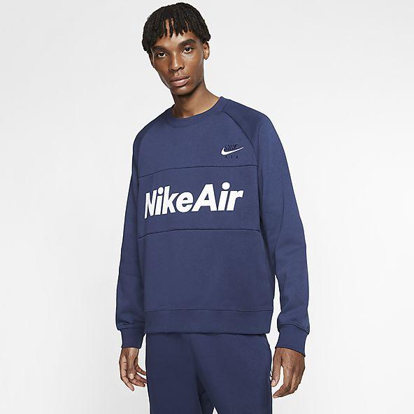 Blue Hoodies \u0026 Sweatshirts. Nike GB