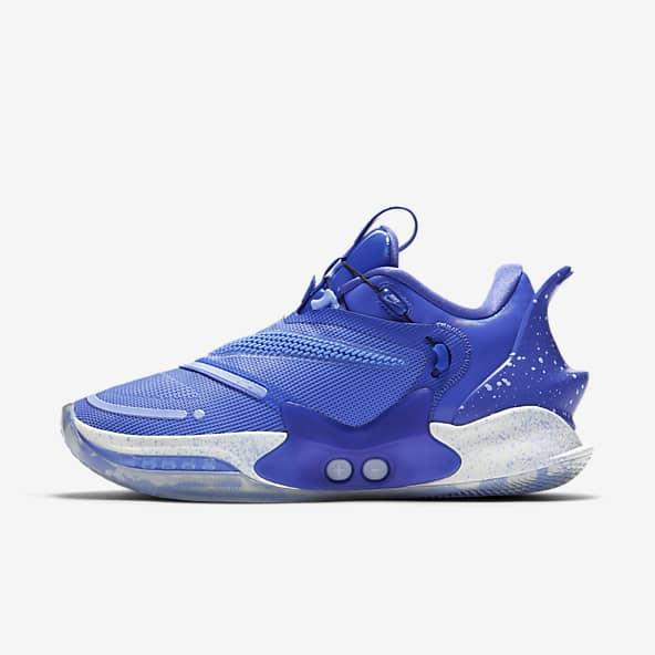 basket nike bleu