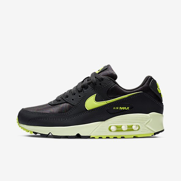 air max 90 nere fluo