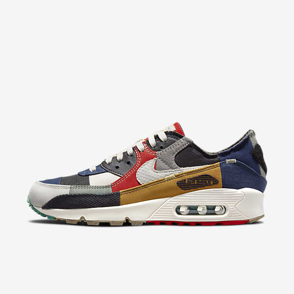 Bleu Nike Air Chaussures. Nike LU
