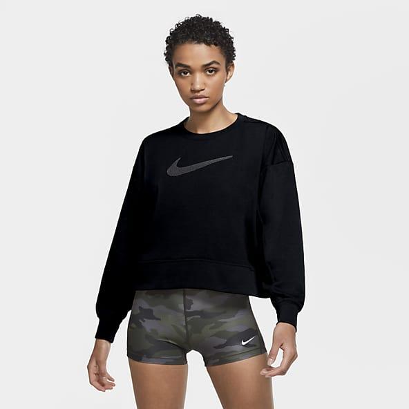 Motear Sangrar cocodrilo  Mujer Negro Sudaderas con y sin capucha. Nike ES