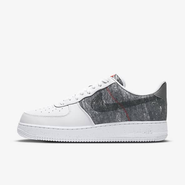 Men's White Air Force 1 Shoes. Nike ID