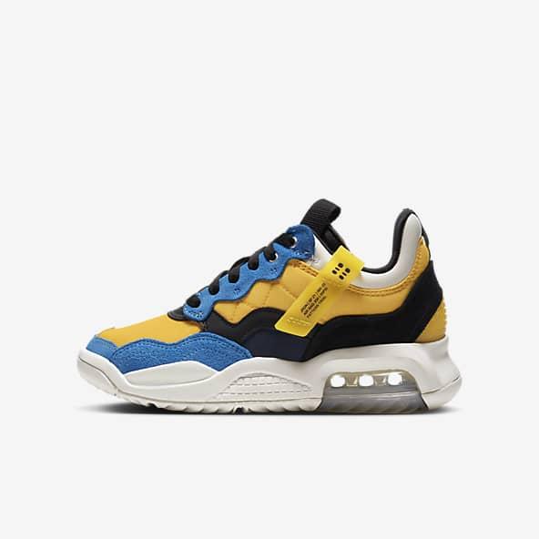 Jordan Yellow Shoes. Nike IN