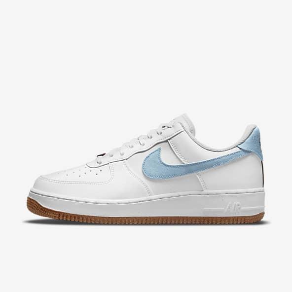 Hommes Blanc Air Force 1 Chaussures. Nike LU