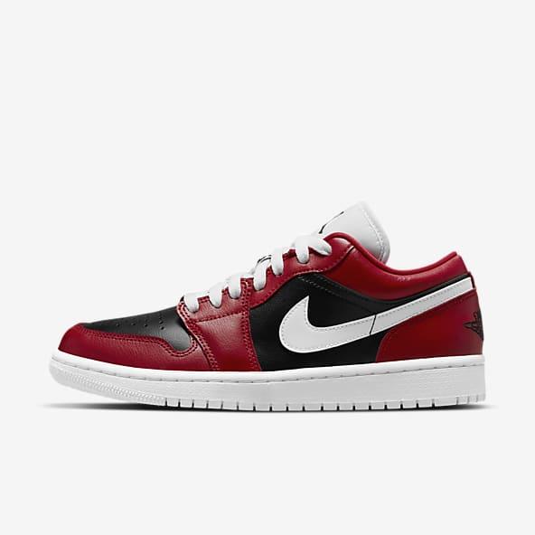 Femmes Jordan Rouge Chaussures. Nike LU