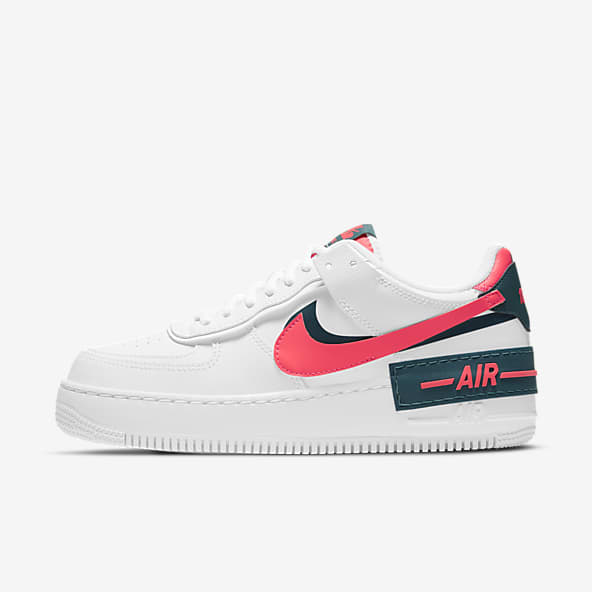 air force 1 donna baffo rosso