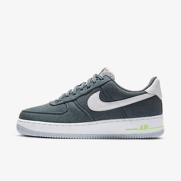 Bleu Air Force 1 Chaussures. Nike CA