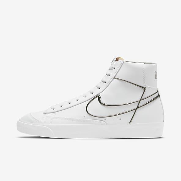 White Blazer Shoes. Nike CA