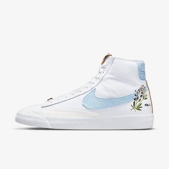 Hommes Blanc Blazer Chaussures. Nike LU