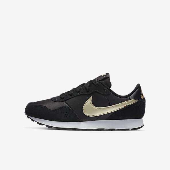 zapatos nike negros con blanco