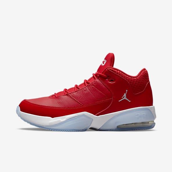 Hommes Jordan Rouge Chaussures. Nike LU