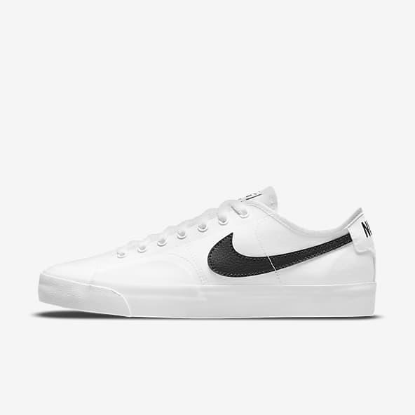 Hommes Blanc Skate Chaussures. Nike CA