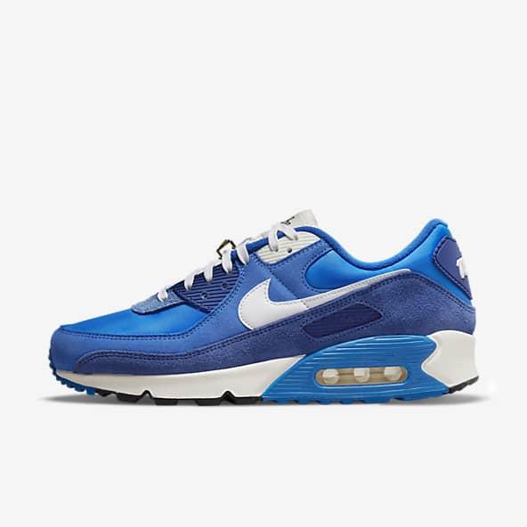 Blue Air Max 90 Shoes. Nike.com