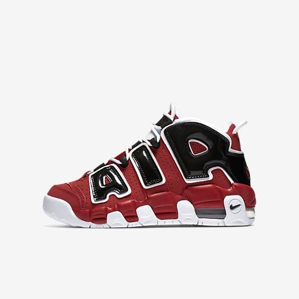 Enfant Rouge Chaussures. Nike LU